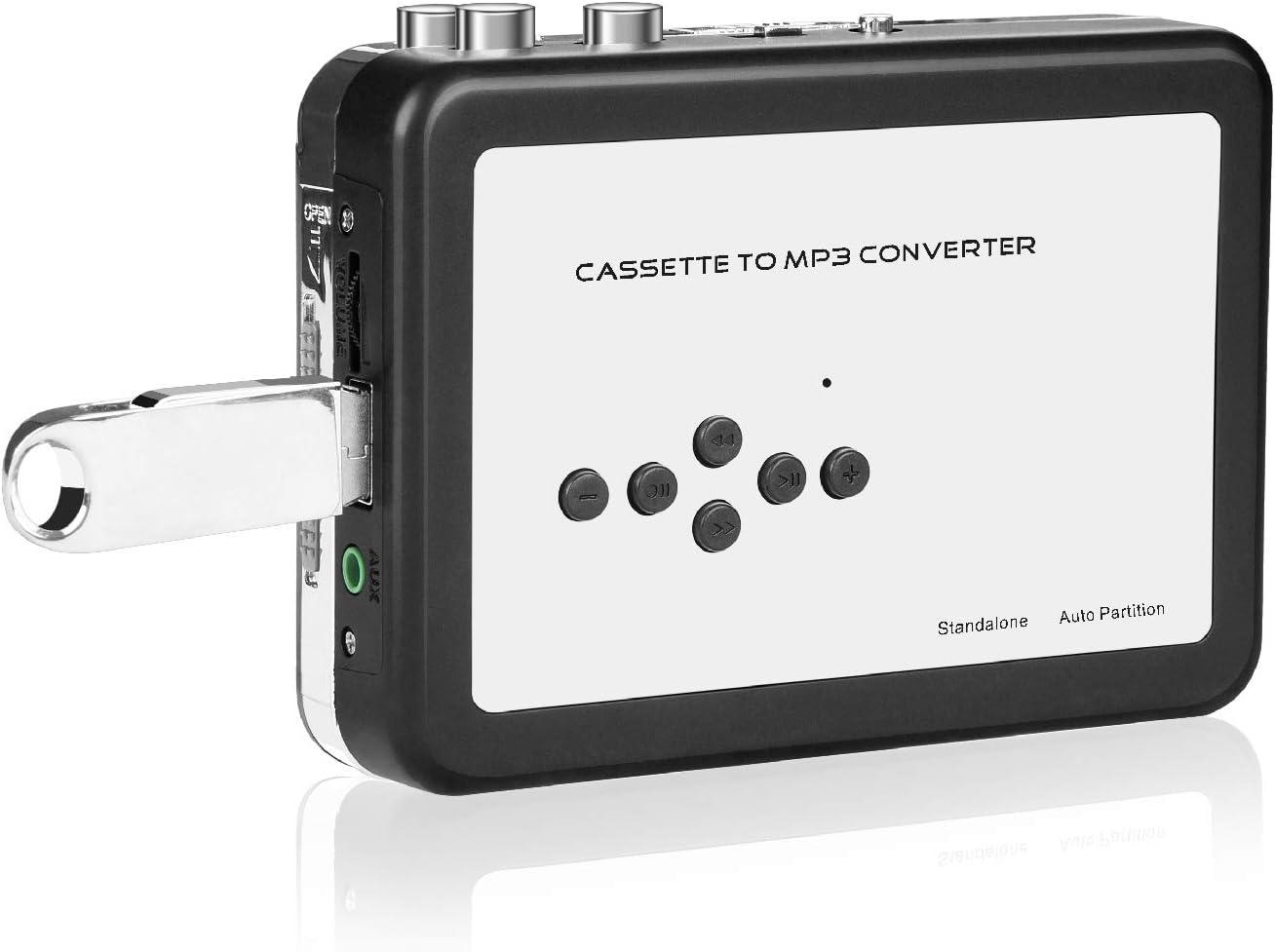 - Audio Tape Player PC//Laptop DigitalLife USB Cassette to MP3 Recorder Converter Protable Personal Walkman Tape Cassette Player