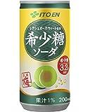 伊藤園 希少糖ソーダ (缶) 200ml×20本