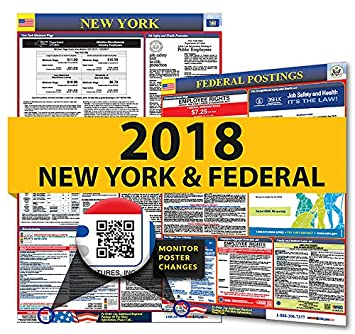 Amazon 2018 new york state federal labor law posters for 2018 new york state federal labor law posters for workplace compliance sciox Images