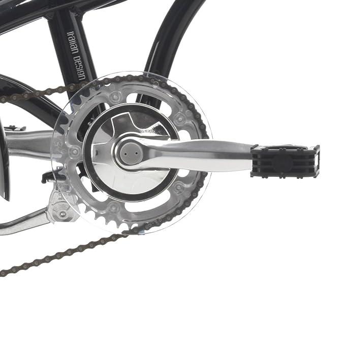 Cicli Cinzia: bicicleta plegable Hopper Aluminium 20, Negro brillante: Amazon.es: Deportes y aire libre