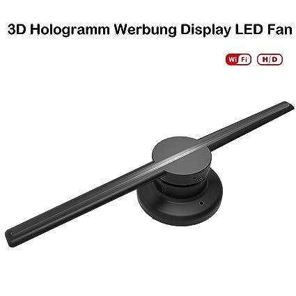 3d Holograma Publicidad pantalla LED Fan, con WiFi, función ...