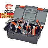 Tool Set 236 Pieces - Gray and Orange