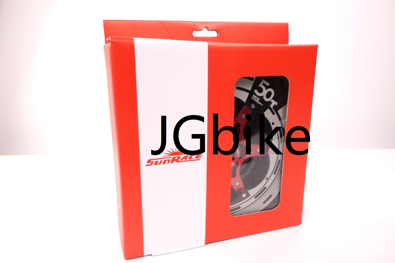 Sunrace 11-speed 11-50T CSMX80 wide ratio MTB Cassette freewheel with rear derailleur extender by JGbike (Black Chrome) by JGbike (Image #6)