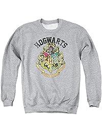 Harry Potter Hogwarts Crest Adult Crew Sweatshirt