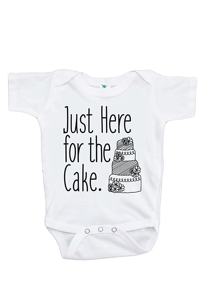 Custom Party Shop Girls Here For The Cake Wedding T-shirt