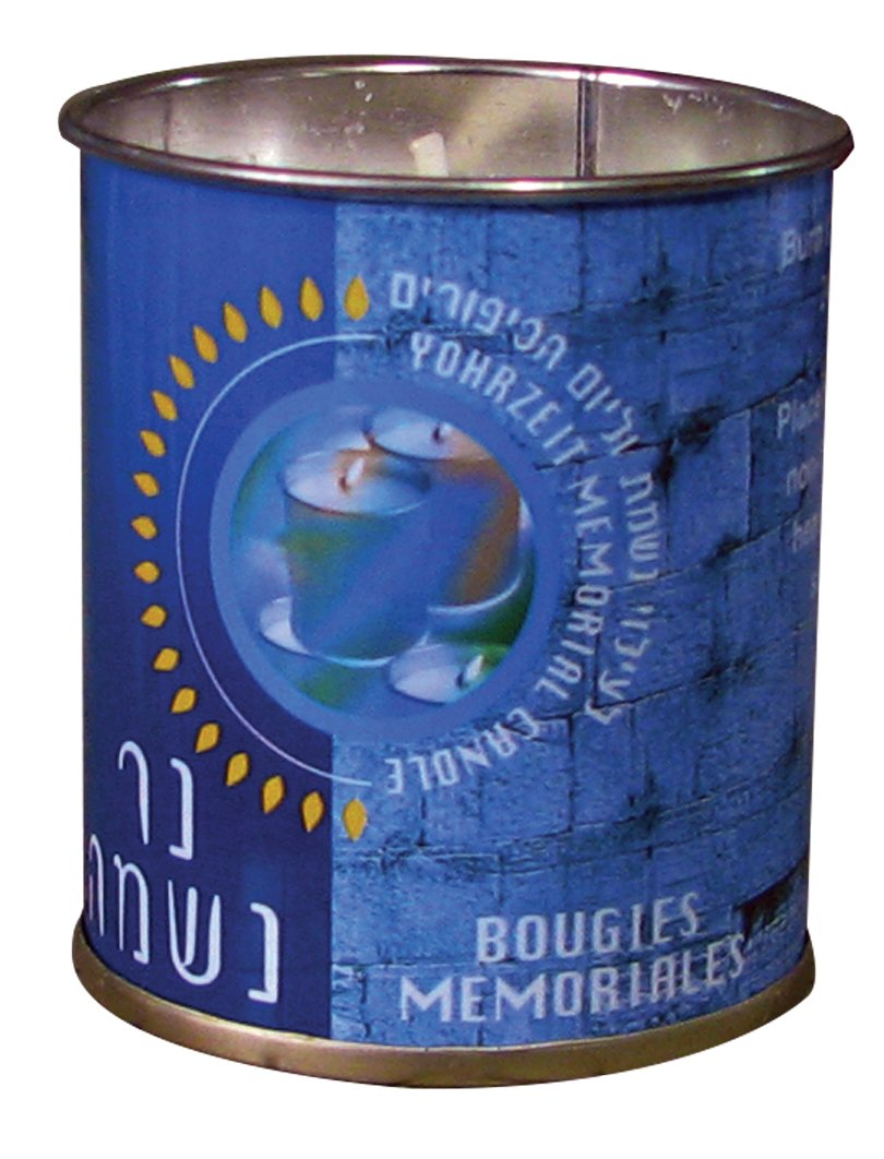 Memorial Candles in Tins, 2-ounce (Pack of 48)