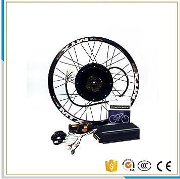 100 km/h velocidad 45H V3 72 V 3000 W bicicleta eléctrica Kit de ...