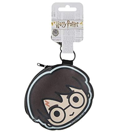 Cerdá Monedero Harry Potter Llavero, 11 cm, Negro
