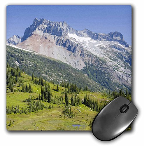 Price comparison product image 3dRose Washington Glacier Peak Wilderness Bonanza Peak US48 JWI2361 Jamie and Judy Wild Mouse Pad (mp_96221_1)