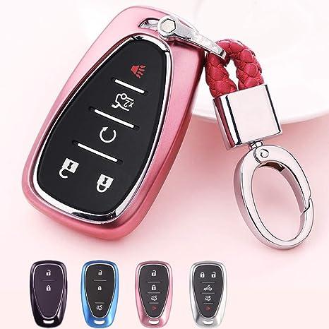 Amazon.com: Mofei - Funda protectora para llave de Chevrolet ...