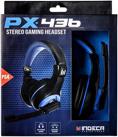 Indeca Sound-Auricular - casco estéreo PX436 para playstation 4 (PS4): Amazon.es: Videojuegos
