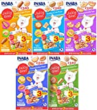 INABA Ciao Juicy Bites Cat Treats All Variety 5pk