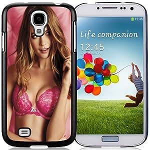 Fashion DIY Custom Designed Samsung Galaxy S4 I9500 i337 M919 i545 r970 l720 I9500 Phone Case For Behati Prinsloo Victorias Secret Pink Phone Case Cover