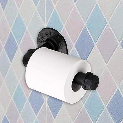 Amazoncom Sunmall Toilet Paper Holderheavy Duty Industrial Iron