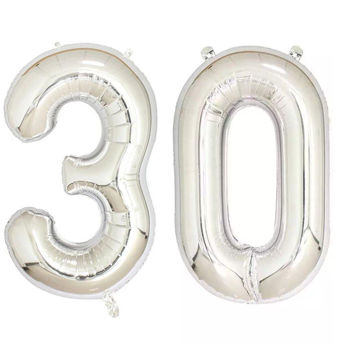 Amazon.com: 40 inch 21 Helio Jumbo Digital Número de globos ...
