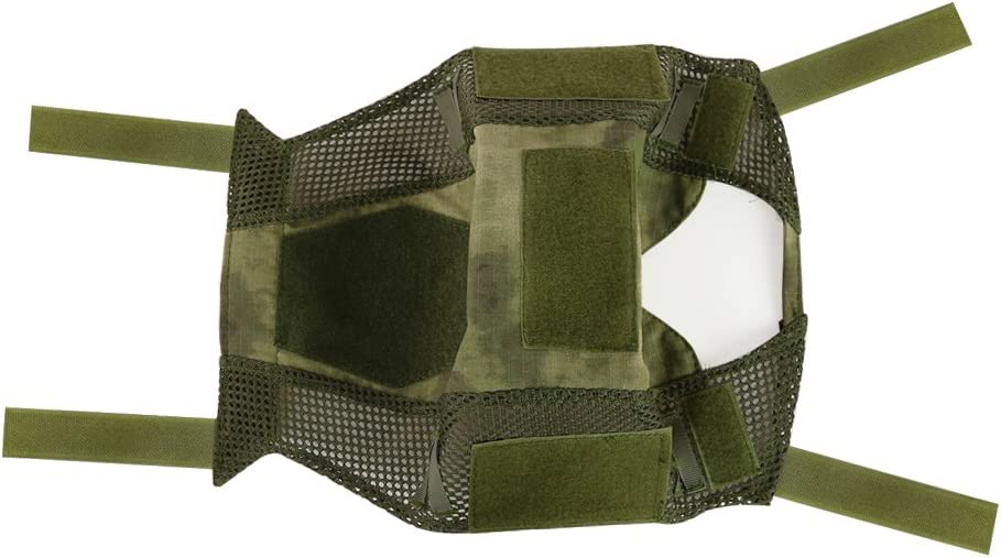 Cubierta de combate militar t/áctico para casco tiro Decho-C paintball camuflaje r/ápido para casco FAST MH//PJ para airsoft caza