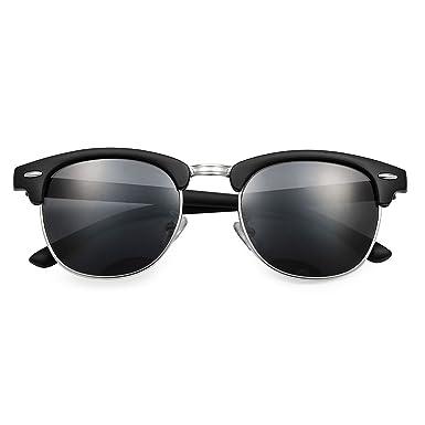 80355c683a Yveser Polarised Sunglasses for Mens and Womens Yv5156 (Black Lens Black  Matte Frame)  Amazon.co.uk  Clothing