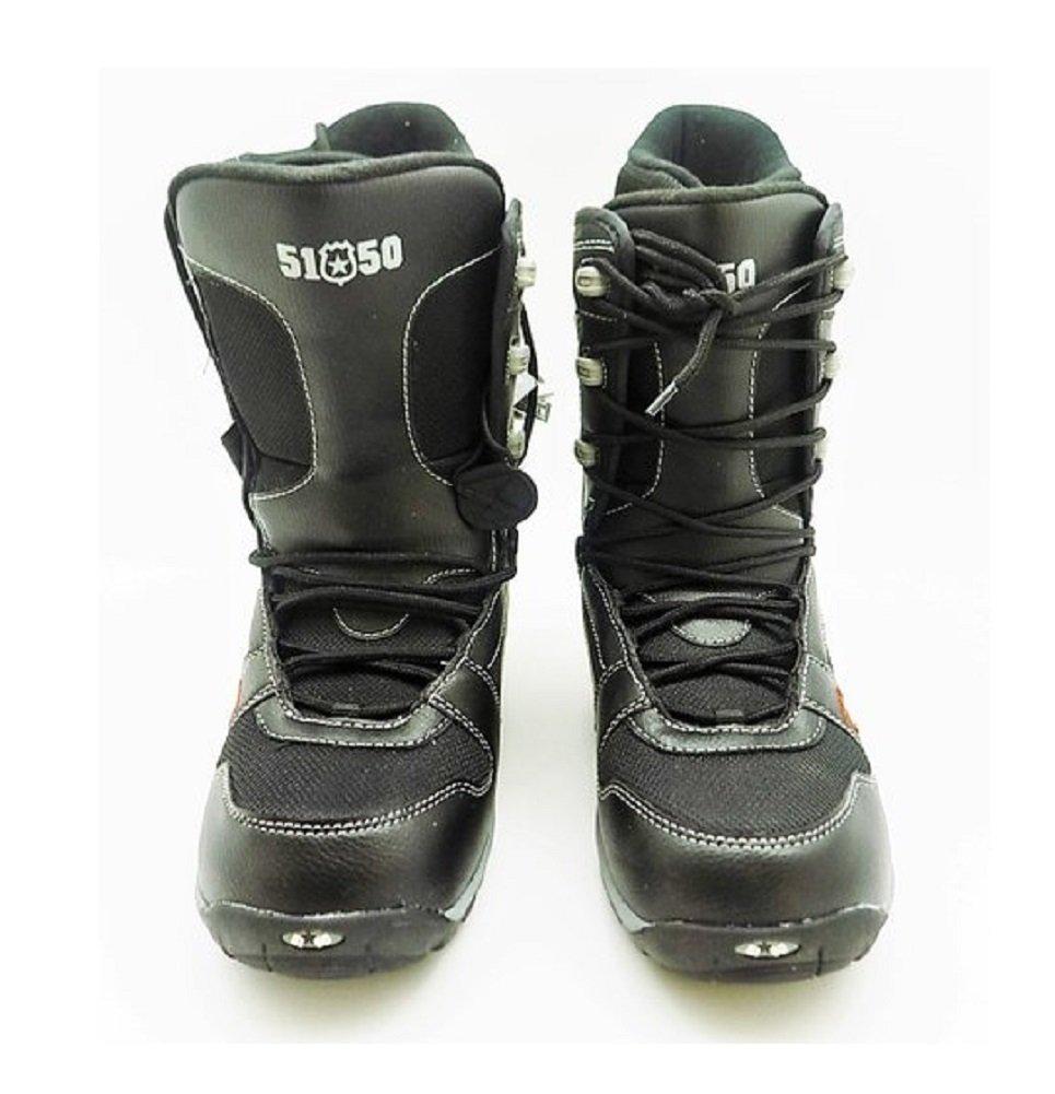 Morrow Rail Snowboarding Boot Black 7.0 D(M) US Mens by