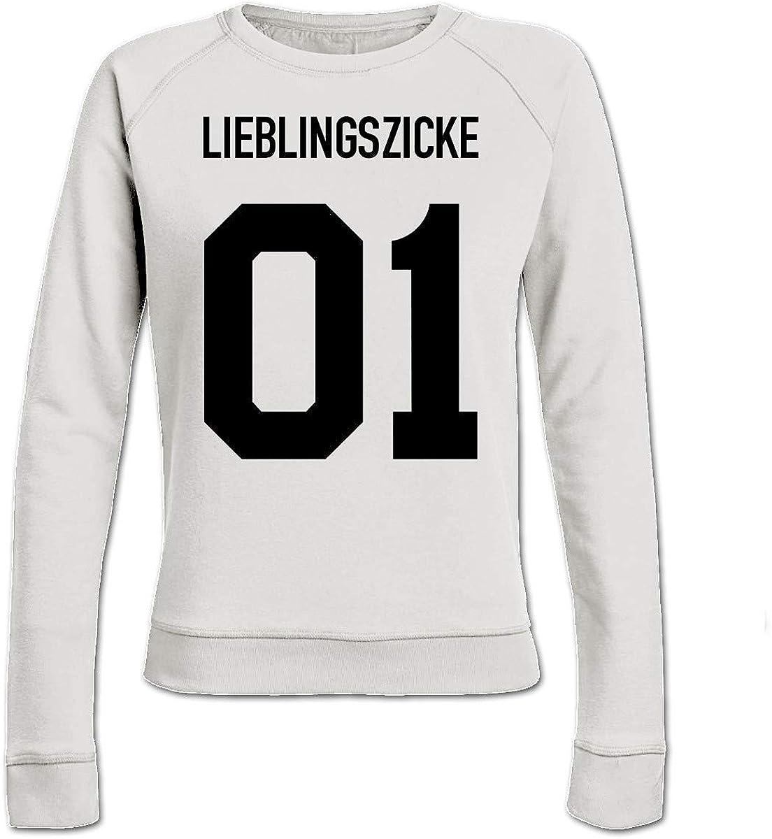 Shirtcity Lieblingszicke 01 Frauen Sweatshirt by