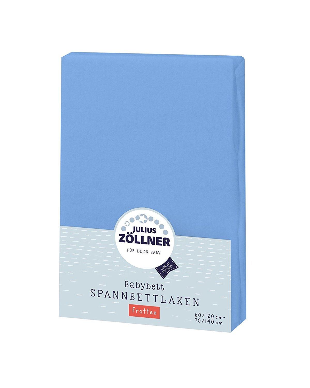 70x140 salbei 3er Pack Neu Julius Zöllner Spannbetttuch Jersey 60x120