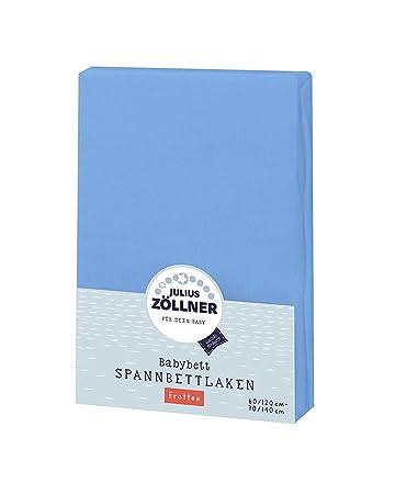 60x120 Ecru doppelpack TOP Julius Zöllner Spannbetttuch Jersey 70x140