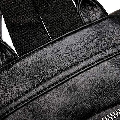 d'adolescentes en Brown Sacs cuir femelle sac le de d'école de jeunesse vintage dos sac la dos qq6CxEwZ