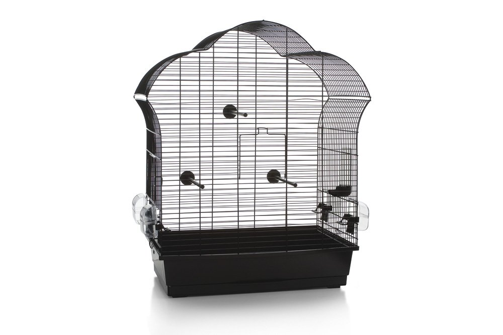 Black 60 Black 60 Beeztees Bird Cage Laura 3, 60, 5 x 34 x 71, 5 cm, Black
