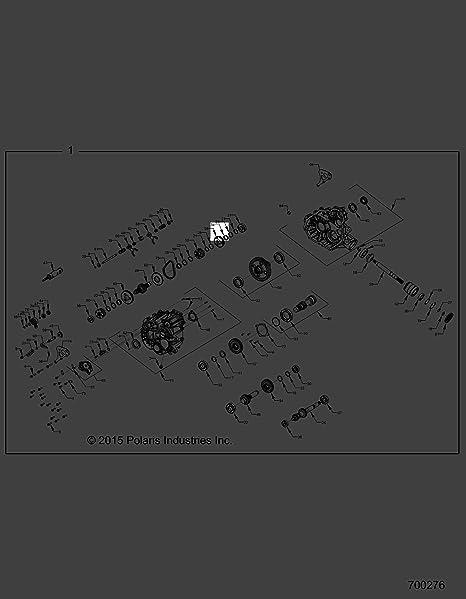 Polaris 1997-2019 Widetrak Lx Rzr 570 Bearing Needle 3233384 New Oem