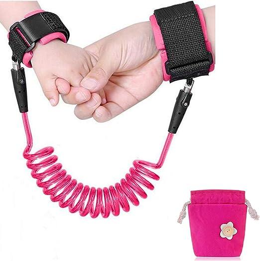 Emwel Anti Lost Wristband Cinturón de seguridad para muñeca, 1.5M ...