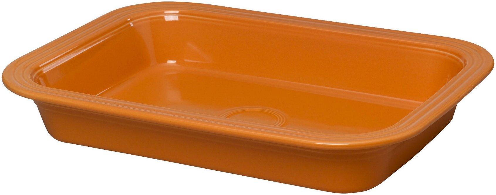 Fiestaware 9'' x 13'' Lasagna Pan (Tangerine Orange)