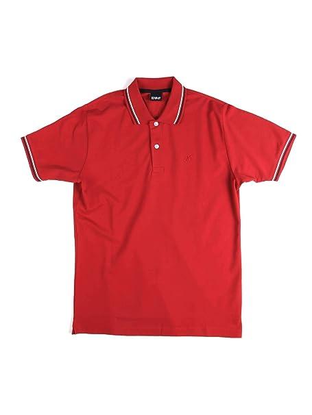 Key up 2Q70G 0001 Polo Hombre Rojo M: Amazon.es: Ropa y accesorios