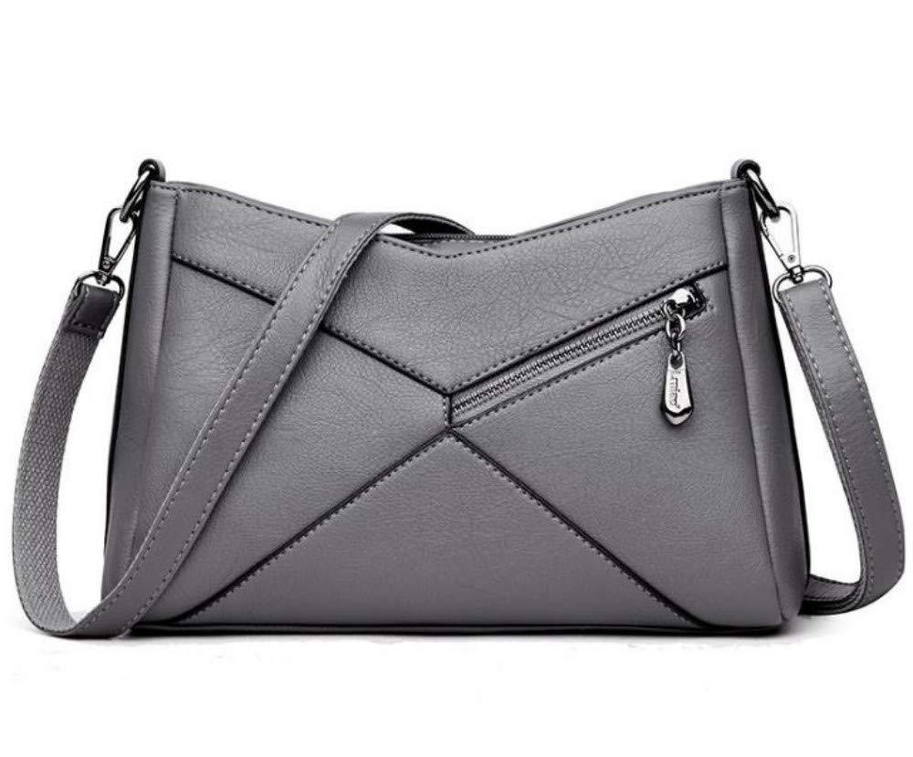 Handtaschen für Damen , Mom-Tasche Mode Mode Mode vielseitig geschlungen tragbare weiche Ledertasche, graue Tote Umhängetasche Damenhandtaschen Top-Griff Taschen Geschenke für Mädchen B07QM8WQRQ Henkeltaschen Stimmt cb0e24