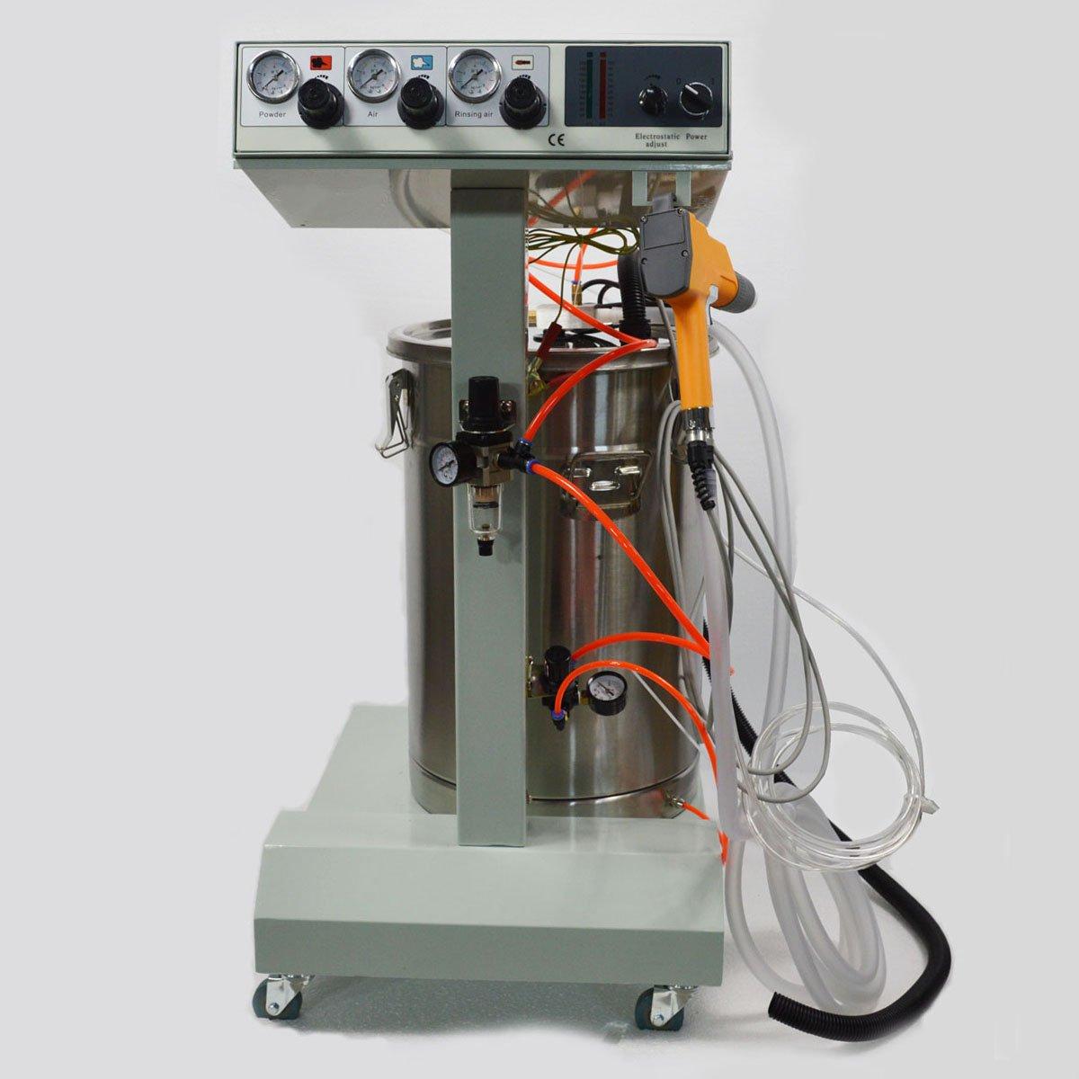 Techtongda Electrostatic Powder Coating Machine Spray Gun Paint System 110V(item# 251040)