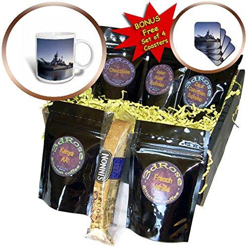 Danita Delimont – Ships – North Carolina, Wilmington, Battleship USS North Carolina, BB-55 – Coffee Gift Baskets – Coffee Gift Basket (cgb_231421_1)
