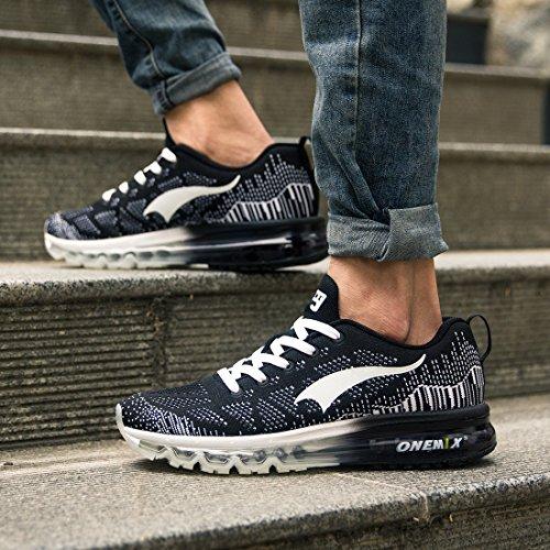 6427457036179 ONEMIX Air Chaussures de course running Sport Compétition Trail Homme ete  Baskets Basses delicate