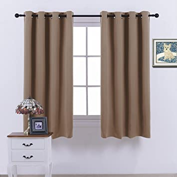 Amazon.com: Nicetown Blackout Curtains - (Cappuccino Color) ,Room ...