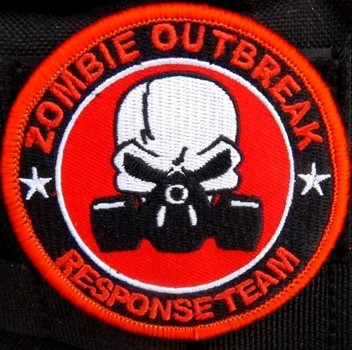 Zombie Outbreak Response Team Gas Mask Patch -