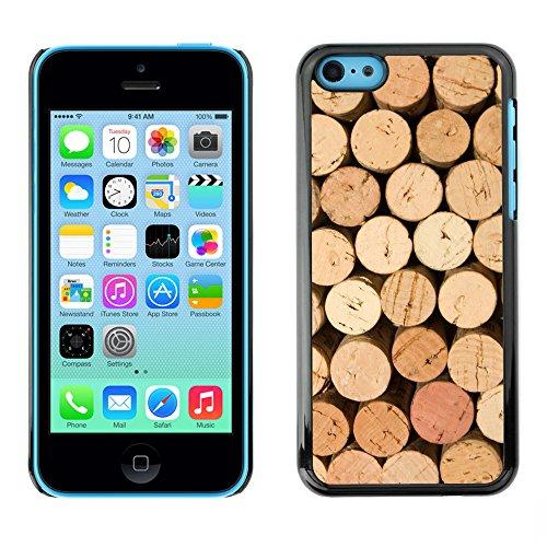 Premio Sottile Slim Cassa Custodia Case Cover Shell // V00002447 bouchons vin // Apple iPhone 5C