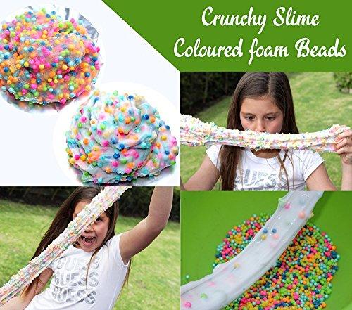 106 pack Slime Making Kits Supplies,Gold Leaf,Foam Balls