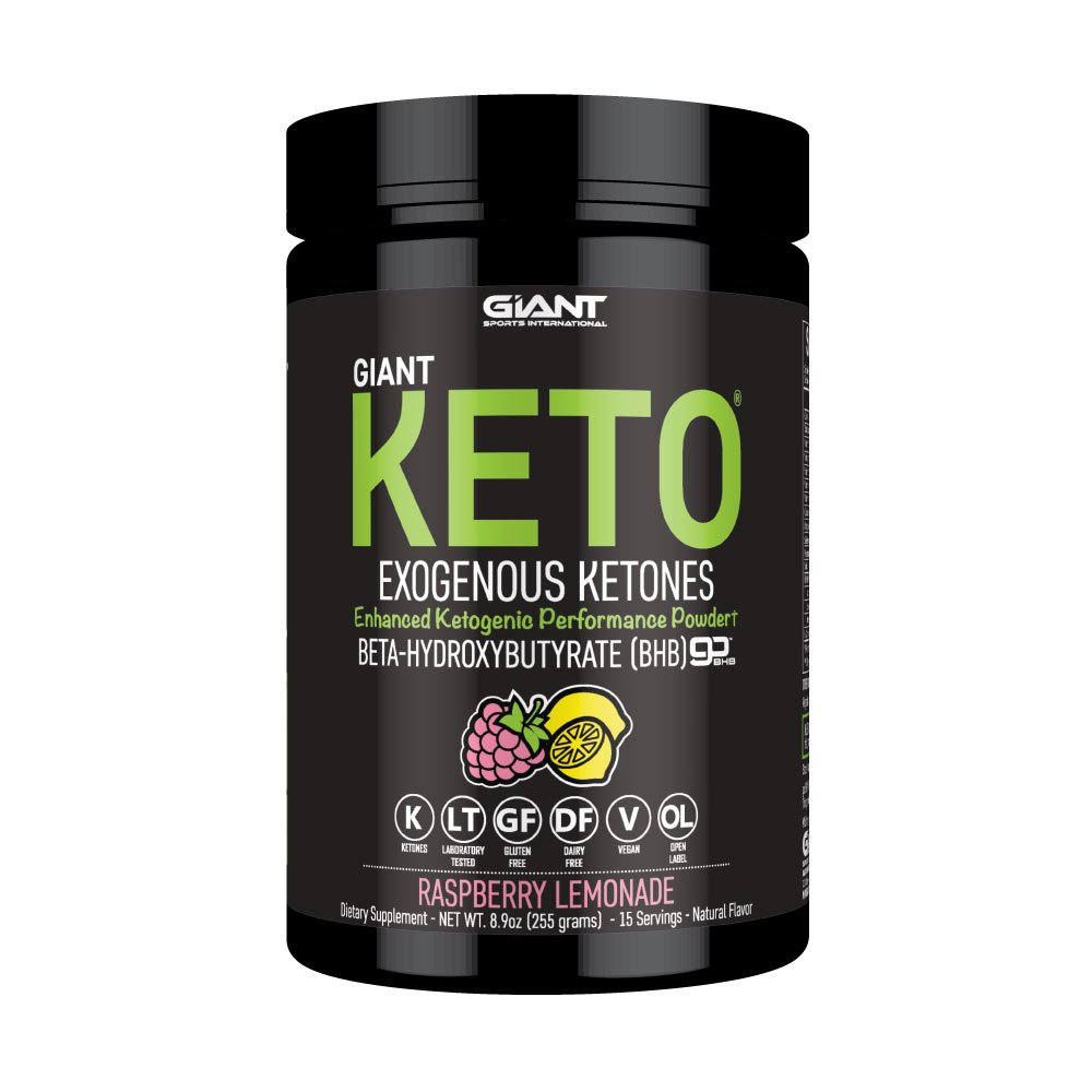 Amazon.com: Giant Keto - Exogenous Ketone Supplement - BHB Salt Keto Powder, New and Improved ...