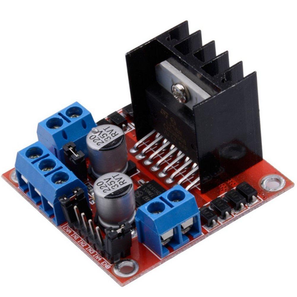Kentop L298N Dual H-Brü cke DC Stepper Motortreiber Schrittmotor Controller Modul fü r Arduino