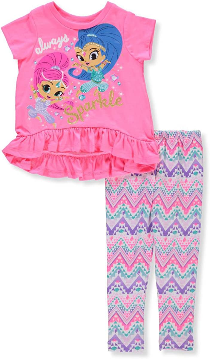April Clothing Girls Shimmer /& Shine Legging