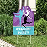 Must Dance to the Beat - Dance - Party Decorations - Dance Party or Birthday Party Welcome Yard Sign