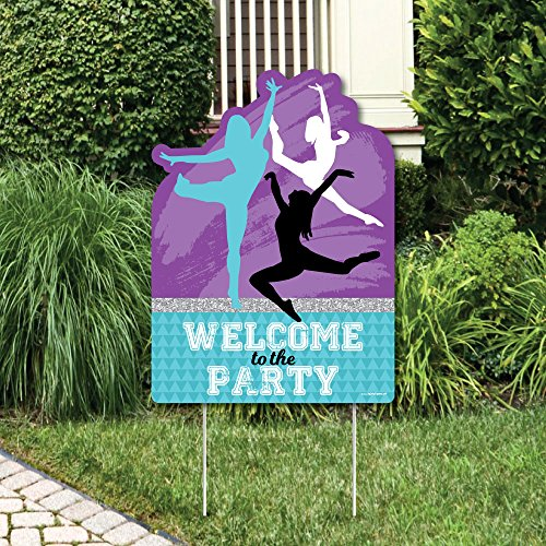 Must Dance to the Beat - Dance - Party Decorations - Dance Party or Birthday Party Welcome Yard Sign by Big Dot of Happiness