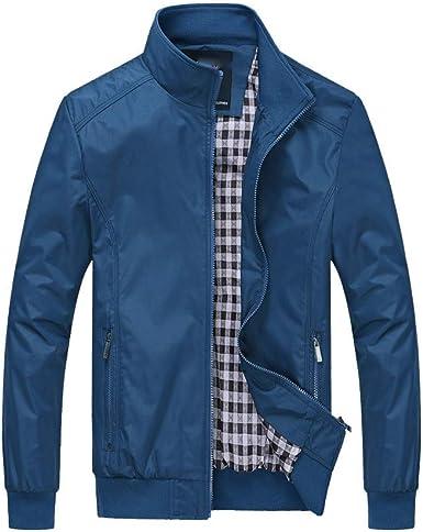 Overdose Chaqueta Hombre Abrigo cálido Outwear Cool Azul Oscuro 6XL más Talla Slim Long Trench Zipper Camisa Negra Abrigo de Invierno Chaqueta de otoño: Amazon.es: Ropa y accesorios