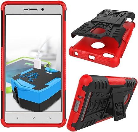 XINYUNEW Funda Xiaomi Redmi 3s/3 Prime, 360 Grados Protective+ ...