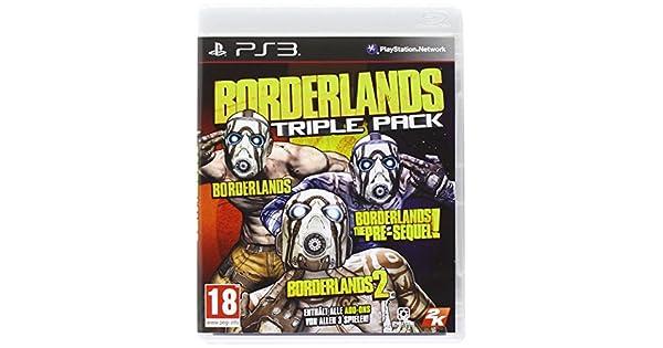 Borderlands: Triple Pack [At Pegi] [Importación Alemana]: Amazon ...