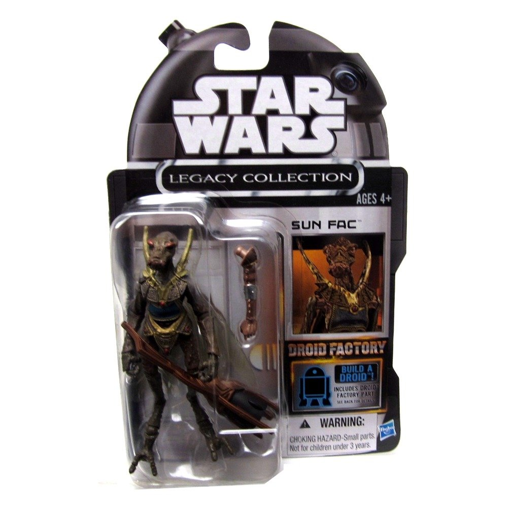 STAR WARS EXCLUSIVE AMAZON DROID FACTORY LEGACY SUN FAC