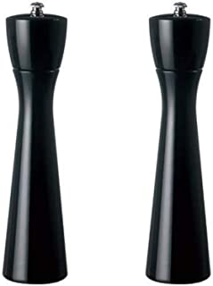 product image for Fletchers' Mill Tronco Salt & Pepper Mill, Black - 10 Inch