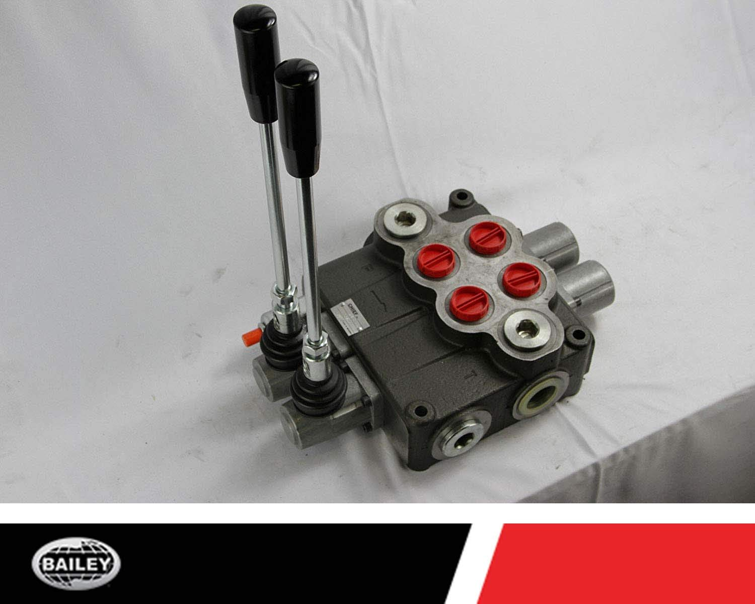 G Series SAE 12//16 Inlet//Outlet Ports and SAE 12 Work Ports CHIEF P120 Directional Control Valve 2 Spool 4 Way 3 Position and 3-pos Spring Center Action 220930 3625 PSI : 30 GPM